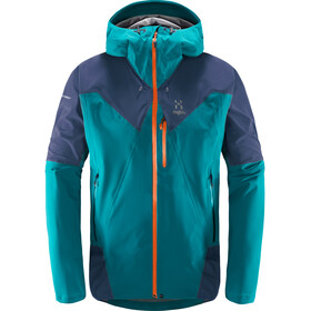 Haglöfs L.I.M Touring PROOF Jacket Herre alpine green/tarn blue